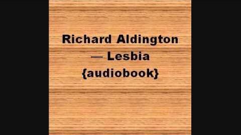 Lesbia / Richard Aldington