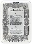 England's joy