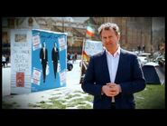 """"""" Party Election Broadcast by the Poetry Party"""" Starring Hugh Boneville"""
