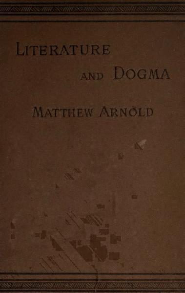 Matthew Arnold bibliography