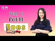 【ENGLISH YEAR 6】Poem- Toes by Judith Nicholls【学到】 - THERESA