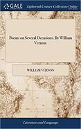 William vernon poems