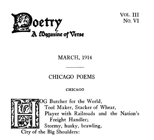 Chicago / Carl Sandburg