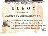 Elegy Written in a Country Churchyard / Thomas Gray