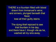 There is a fountain filled with blood • William Cowper (1731-1800)