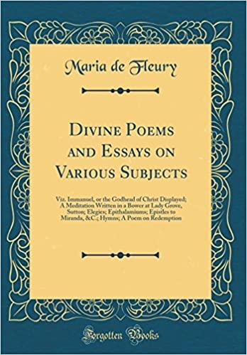 Maria De Fleury