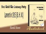 Lament in 1915 B. H. W