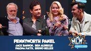 Pennyworth Panel - Jack Bannon, Ben Aldridge, Paloma Faith - MCM London - Oct 2019
