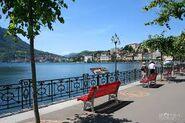 Bench in Lugano