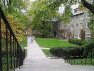 Courtyard of Balch Hall at Cornell