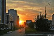 Sunset in Saransk