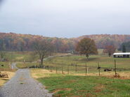 Farm in Maryville in fall