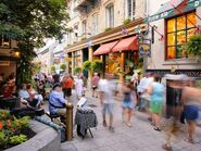 Gorgeous shops in Quebec City
