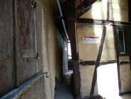 Narrowest street in the world, just 31 cm wide