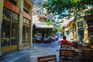 Athens coffee shop by fictionalmind-d6ddhe3