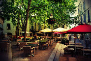 Terrasse cafes montpellier by youyoune