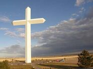 Groom Cross, one of the largest in the world