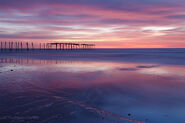 Sunrise at 59th St. Pier in Cape May