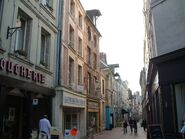 Rue Chatelaine in Laon