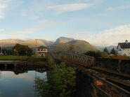 Ben Nevis from Neptune's Staircase
