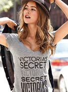Candid in VS t shirt