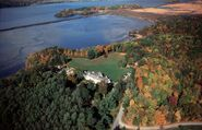 Bard College aerial
