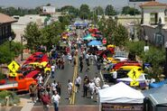 Car show in Newhall