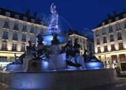 Place Royale fountain