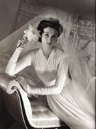Babe Paley in wedding gown