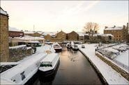 Canals in winter