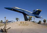 Naval Air Facility holding