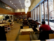 Lamont Library Cafe