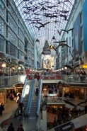 Eaton Centre at Boxing Day