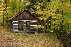 Sheppard's Bush Conservation log cabin.jpg