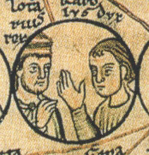 Charles and his brother, Lothair of France.jpg