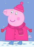 Aunty Pig Winter Clothes