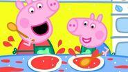Peppa Pig Official Channel 🍳 Peppa Pig's Breakfast Club!-0