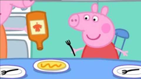 Peppa Pig Series 1 Episode 23 Pancakes