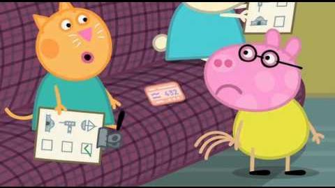 Peppa Pig The Train Ride Episode 18 Season 3