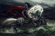 Odin the allfather by vyrilien-d93f35w