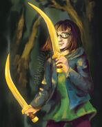 Meg McCaffrey (the Hidden Oracle)