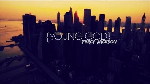 Young god percy jackson