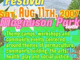 Sustainability arts festival