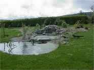 Pern Dragonhold waterfall