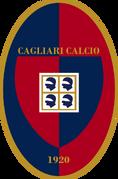 Cagliari Calcio (golden letters)