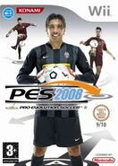Wii Cover PES 2008 Italien