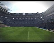 Das Stadion Santiago Bernabeu in PES 2010 002