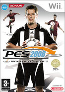 Englischer Wii Cover Pes 2008