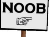 Noob Sign (Pet Simulator 1)