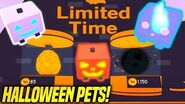 *NEW* LIMITED TIME HALLOWEEN PETS IN PET SIMULATOR UPDATE!! (Roblox)